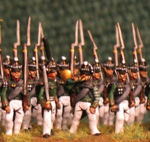 15mm, Napoleonic Russian Jaegers, 34th AB 24 figures pictures to follow